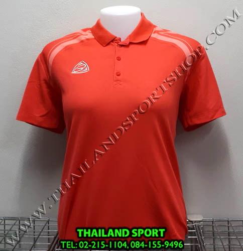 เสื้อ POLO อีโก้ EGO SPORT รุ่น EG 6132 (สีส้มปูน) WOMEN