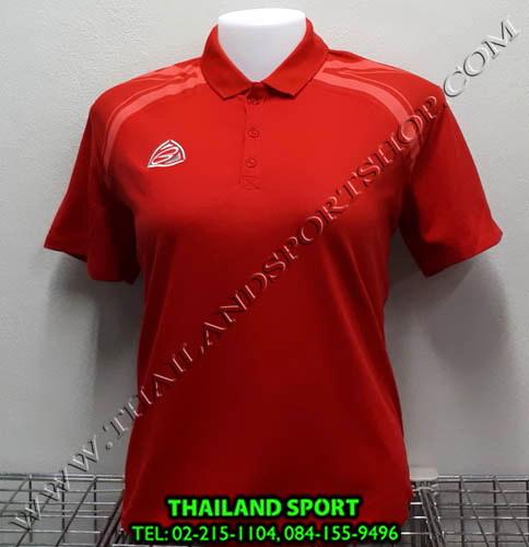 เสื้อ POLO อีโก้ EGO SPORT รุ่น EG 6132 (สีแดง) WOMEN