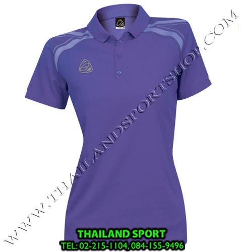เสื้อ POLO อีโก้ EGO SPORT รุ่น EG 6132 (สีม่วงเข้ม) WOMEN