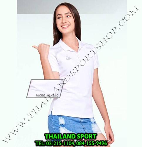 เสื้อ POLO อีโก้ EGO SPORT รุ่น EG 6132 (สีฟ้าอ่อน) WOMEN 1
