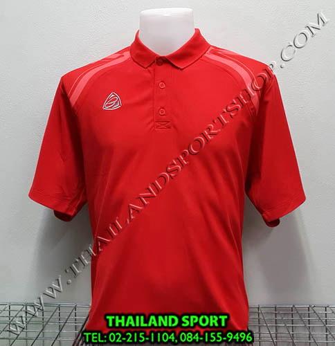 เสื้อ POLO อีโก้ EGO SPORT รุ่น EG 6131 (สีแดง R) MAN