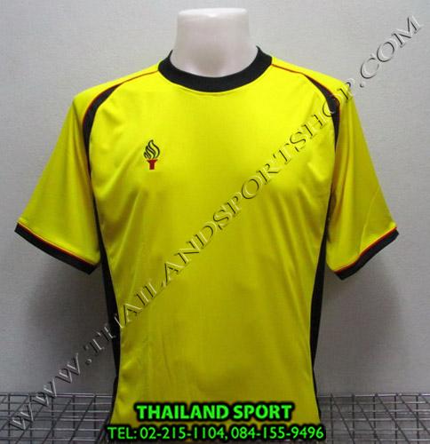เสื้อกีฬา สปอร์ต เดย์ SPORT DAY รุ่น SA001 (สีเหลือง-กรม YG) ตัดต่อ