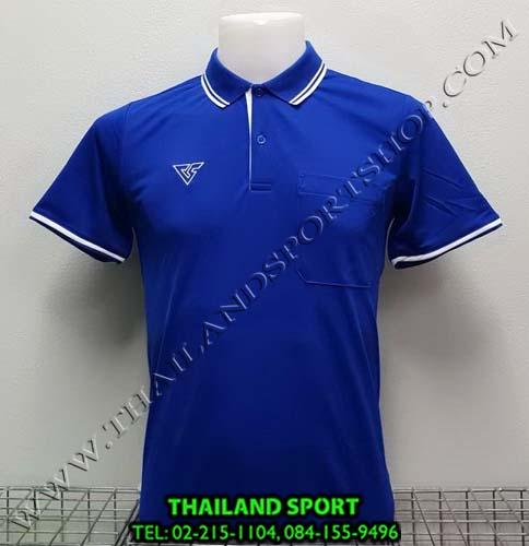 เสื้อโปโล กีฬา VERSUS รุ่น V-P004 (สีน้ำเงิน)