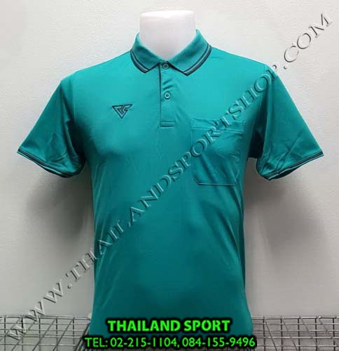 เสื้อโปโล กีฬา VERSUS รุ่น V-P004 (สีเขียว)