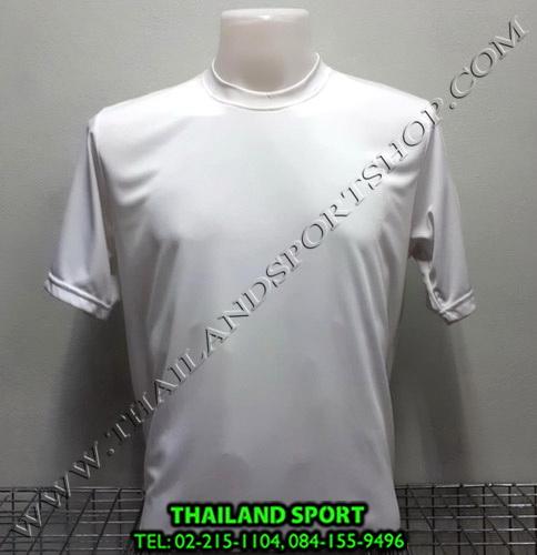เสื้อกีฬา สีล้วน mhee cool รุ่น pc 05 (สีขาว W)