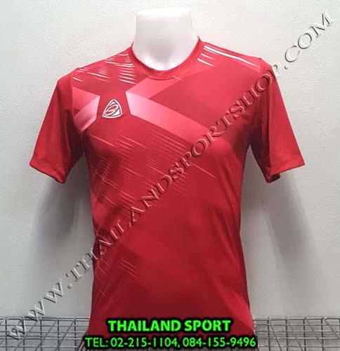 เสื้อ อีโก้ EGO SPORT รุ่น EG-5116 (สีแดง) พิมพ์ลาย