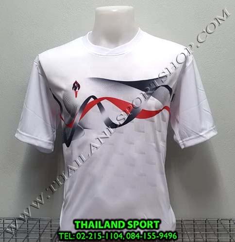 เสื้อกีฬา สปอร์ต เดย์ SPORT DAY รุ่น SA002 (สีขาว W ) พิมพ์ลาย