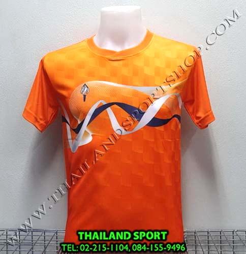 เสื้อกีฬา สปอร์ต เดย์ SPORT DAY รุ่น SA002 (สีส้ม O ) พิมพ์ลาย