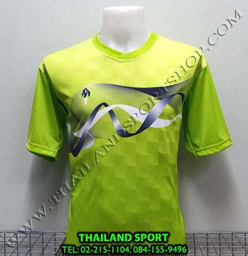 เสื้อกีฬา สปอร์ต เดย์ SPORT DAY รุ่น SA002 (สีเขียว LG ) พิมพ์ลาย