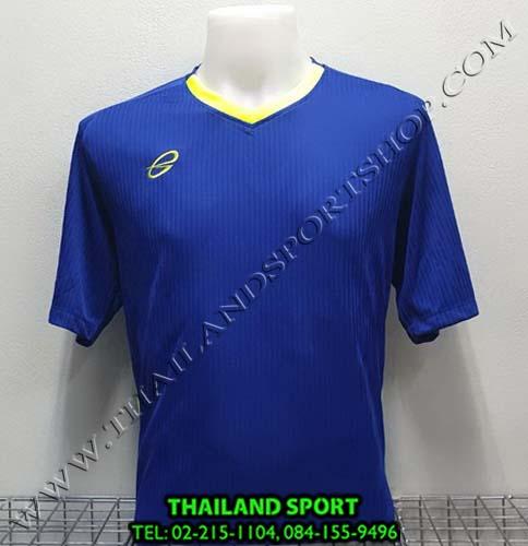 เสื้อ อีโก้ EGO SPORT รุ่น EG-5118 (สีน้ำเงิน BL) พิมพ์ลาย