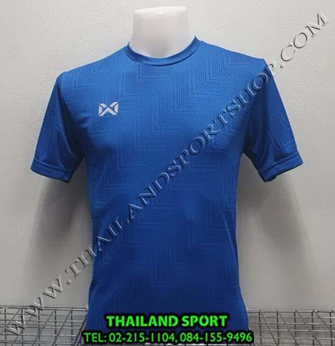 เสื้อกีฬา วอริค warrix รหัส wa 1568 (สีน้ำเงิน bb)