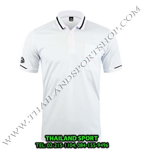 เสื้อ POLO SHIRT อีโก้ รุ่น EG 6151 (สีขาว) MAN