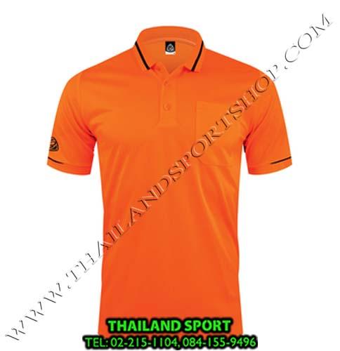 เสื้อ POLO SHIRT อีโก้ รุ่น EG 6151  (สีส้มปูน) MAN