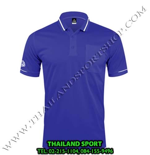 เสื้อ POLO SHIRT อีโก้ รุ่น EG 6151  (สีม่วงเข้ม) MAN