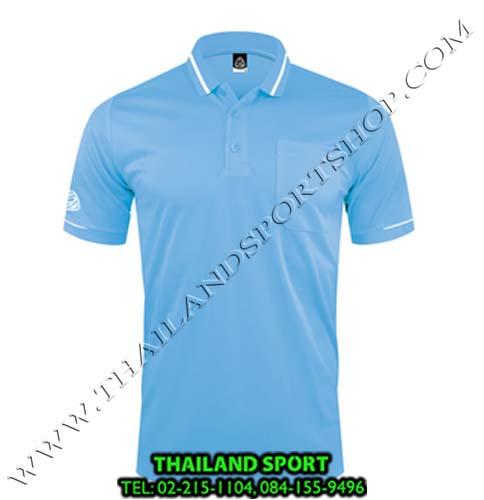 เสื้อ POLO SHIRT อีโก้ รุ่น EG 6151 (สีฟ้า) MAN