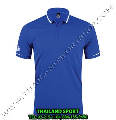 เสื้อ POLO SHIRT อีโก้ รุ่น EG 6151  (สีน้ำเงิน) MAN