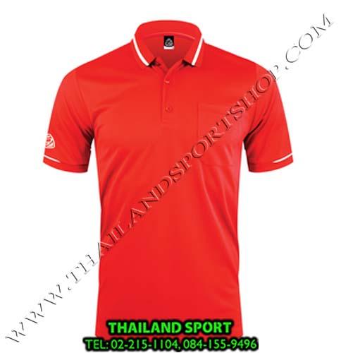 เสื้อ POLO SHIRT  อีโก้ รุ่น EG 6151 (สีแดง) MAN