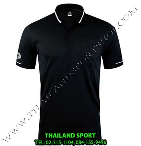 เสื้อ POLO SHIRT อีโก้ รุ่น EG 6151 (สีดำ) MAN