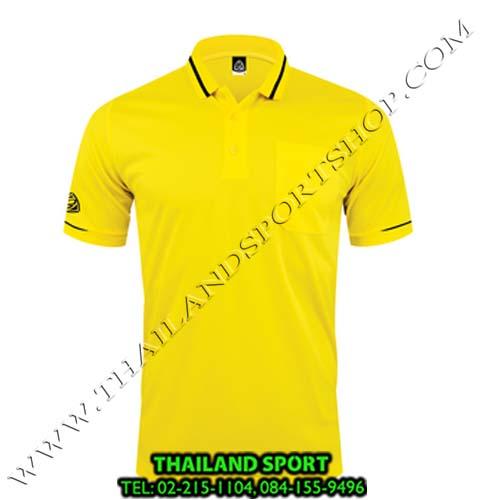 เสื้อ POLO SHIRT อีโก้ รุ่น EG 6151 (สีเหลือง) MAN