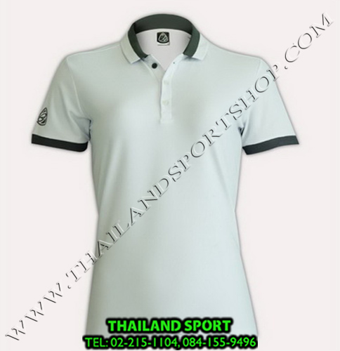 เสื้อ POLO SHIRT อีโก้ EGO SPORT รุ่น EG 6148 (สีขาว) WOMEN