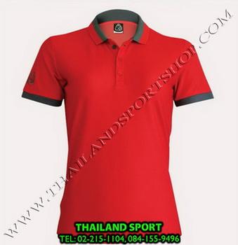 เสื้อ POLO SHIRT อีโก้ EGO SPORT รุ่น EG 6148 (สีแดง) WOMEN