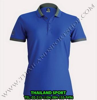 เสื้อ POLO SHIRT อีโก้ EGO SPORT รุ่น EG 6148 (สีน้ำเงิน) WOMEN