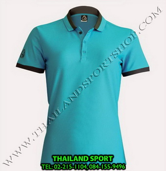 เสื้อ POLO SHIRT อีโก้ EGO SPORT รุ่น EG 6148 (สีฟ้า) WOMEN