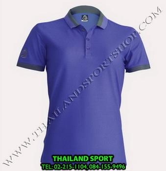 เสื้อ POLO SHIRT อีโก้ EGO SPORT รุ่น EG 6148 (สีม่วงเข้ม) WOMEN