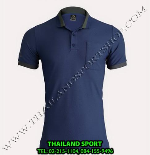 เสื้อ POLO SHIRT อีโก้ EGO SPORT รุ่น EG 6147 (สีกรม) MAN