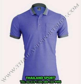 เสื้อ POLO SHIRT อีโก้ EGO SPORT รุ่น EG 6147 (สีม่วง) MAN