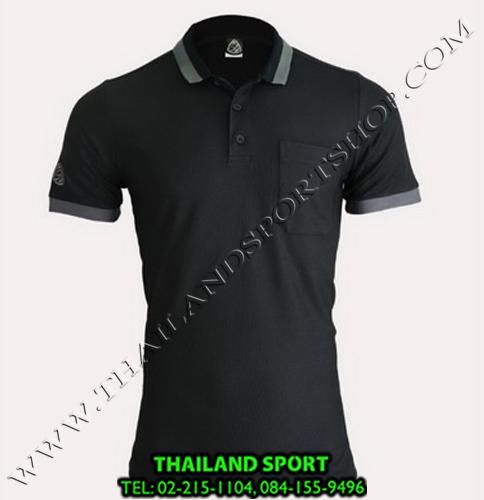 เสื้อ POLO SHIRT อีโก้ EGO SPORT รุ่น EG 6147 (สีดำ) MAN