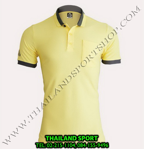 เสื้อ POLO SHIRT อีโก้ EGO SPORT รุ่น EG 6147 (สีเหลือง) MAN