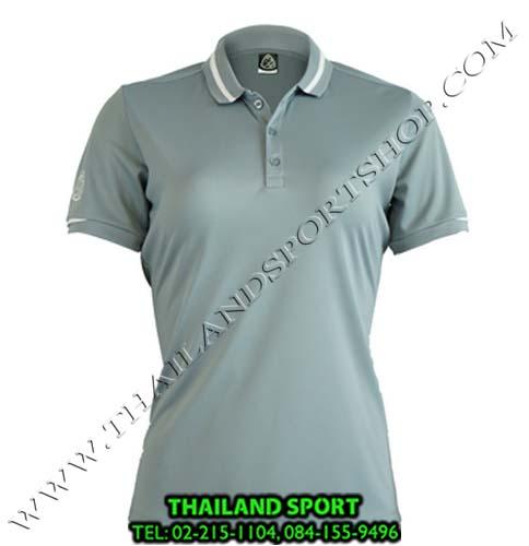 เสื้อ POLO SHIRT อีโก้ EGO SPORT รุ่น EG 6152 (สีเทา) WOMEN