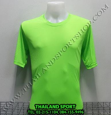 เสื้อกีฬา สีล้วน mhee cool รุ่น pc 05 (สีเขียว)