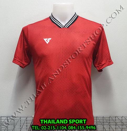 เสื้อกีฬา เวอร์ซูส VERSUS รุ่น VA-1102 (สีแดง RW) พิมพ์ลาย
