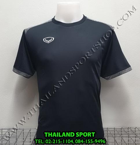 เสื้อกีฬา แกรนด์ สปอร์ต Grand Sport รุ่น 011-472 (สีดำ)
