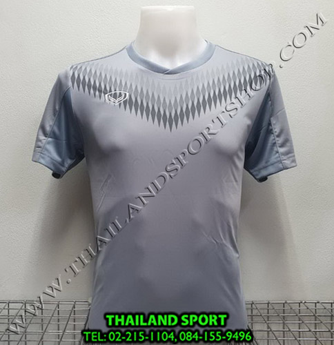 เสื้อกีฬา แกรนด์ สปอร์ต Grand Sport รุ่น 011-476 (สีเทา)