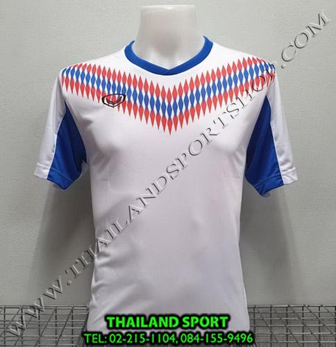 เสื้อกีฬา แกรนด์ สปอร์ต Grand Sport รุ่น 011-476 (สีขาว)