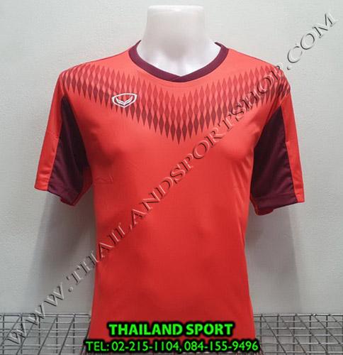 เสื้อกีฬา แกรนด์ สปอร์ต Grand Sport รุ่น 011-476 (สีแดง)