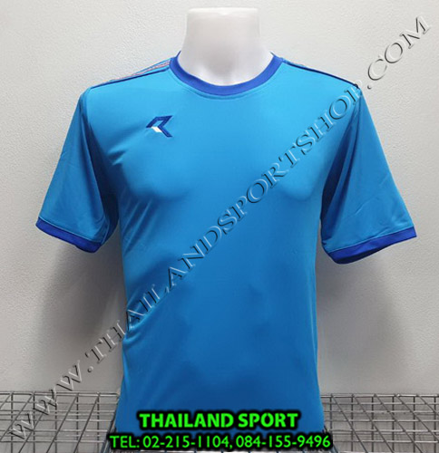 เสื้อกีฬา เรียล REAL รุ่น RAX-016 (สีฟ้า LB )