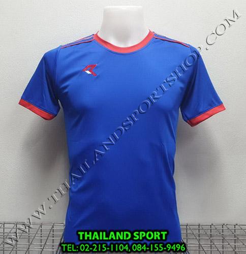 เสื้อกีฬา เรียล REAL รุ่น RAX-016 (สีน้ำเงิน BR)