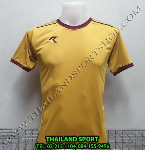 เสื้อกีฬา เรียล REAL รุ่น RAX-016 (สีทอง NU)
