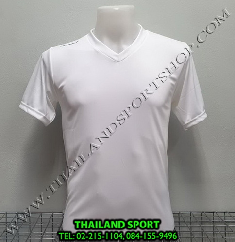 เสื้อกีฬาสี สีล้วน matador md-101 (สีขาว)