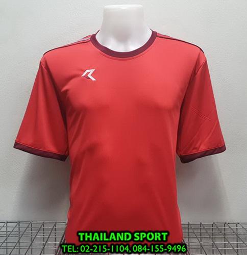 เสื้อกีฬา เรียล REAL รุ่น RAX-016 (สีแดง RU )