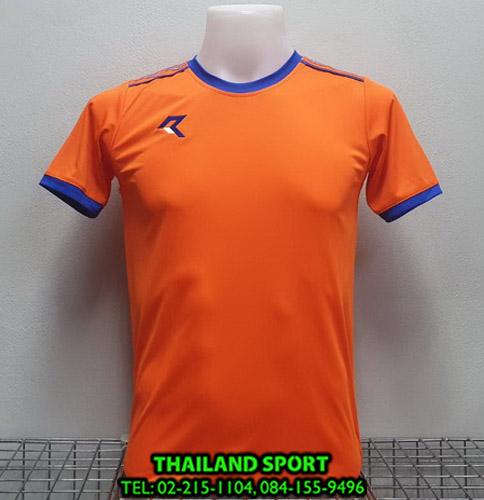 เสื้อกีฬา เรียล REAL รุ่น RAX-016 (สีส้ม OB)
