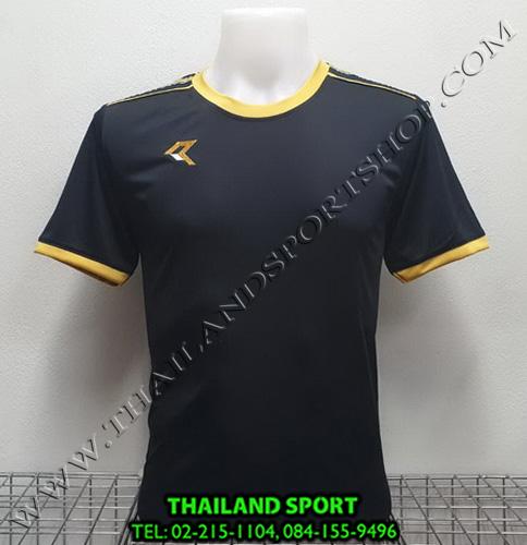เสื้อกีฬา เรียล REAL รุ่น RAX-016 (สีดำ AN)