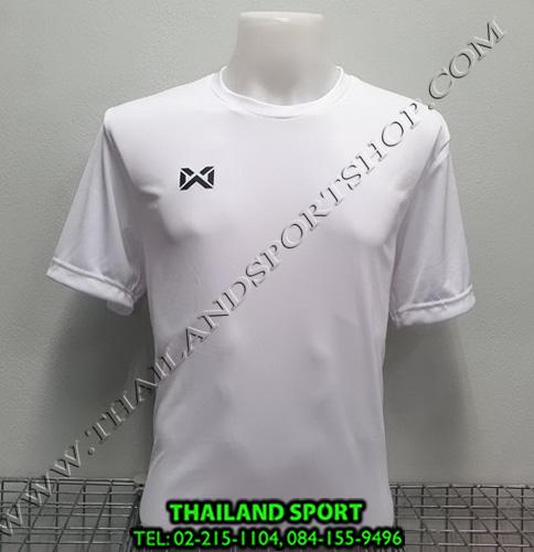 เสื้อกีฬา วอริค warrix รหัส wa-fba571 (สีขาว ww)