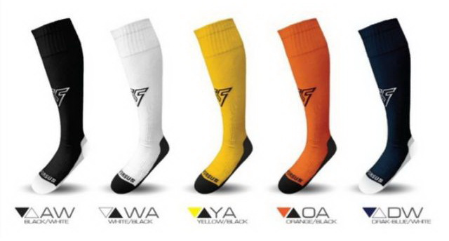 ถุงเท้า กีฬา เวอร์ซูส VERSUS รุ่น VC-1101 (สีดำ,สีกรม,สีขาว,สีเหลือง,สีส้ม)