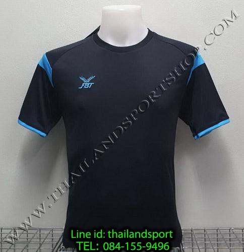 เสื้อกีฬา เอฟ บี ที  FBT รุ่น 12-265 (สีดำ)