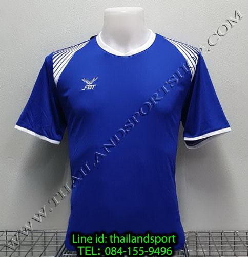 เสื้อกีฬา เอฟ บี ที fbt รุ่น 12-272 (สีน้ำเงิน)